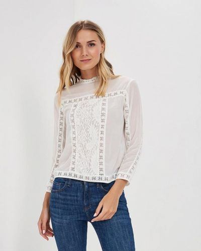 Белая кружевная блузка Incity