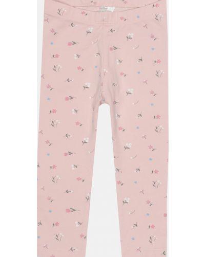 Розовые леггинсы эластичные H&m
