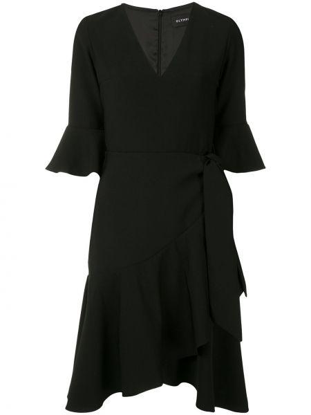 Платье мини короткое - черное Olympiah