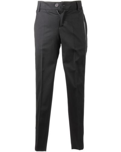 Czarne spodnie materiałowe Givenchy