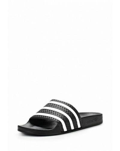 Черные сланцы Adidas Originals