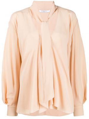 Bluzka jedwabna długa Givenchy
