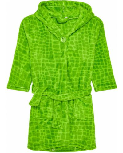 Szlafrok - zielony Playshoes