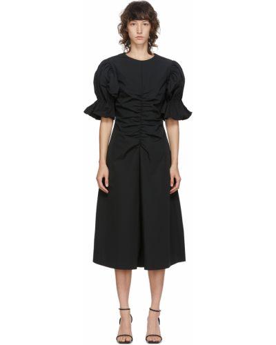 Sukienka rozkloszowana - czarna Edit