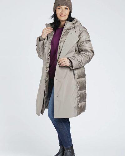 Стеганое пальто D`imma Fashion Studio