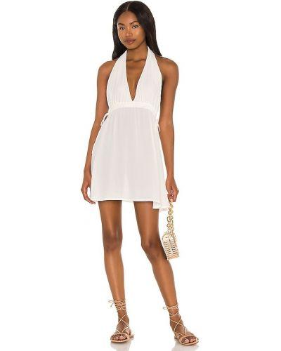 Бежевое платье с подкладкой из крепа Lovewave