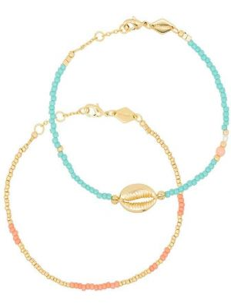 Золотистый желтый золотой браслет позолоченный Anni Lu