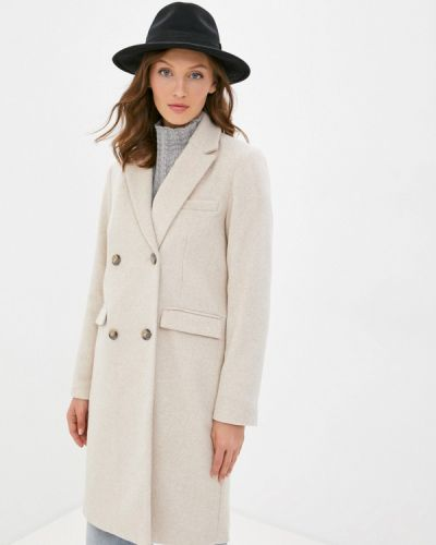 Бежевое пальто Y.a.s.