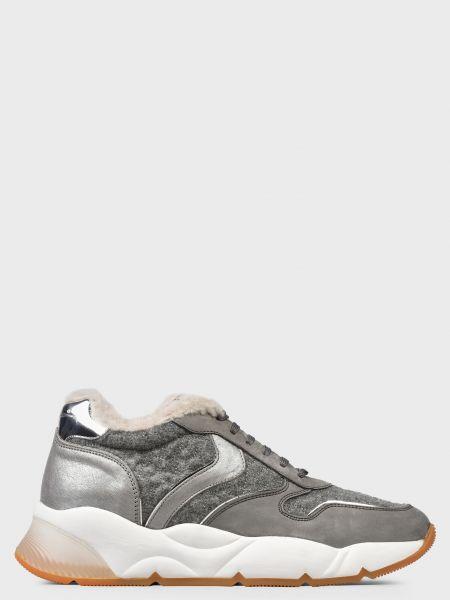 Кроссовки на платформе - серые Voile Blanche