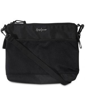 Czarna torebka crossbody z siateczką Yohji Yamamoto