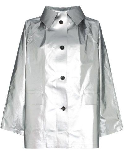Пальто с капюшоном металлическое Kassl