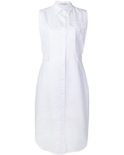 Платье на пуговицах платье-рубашка Calvin Klein