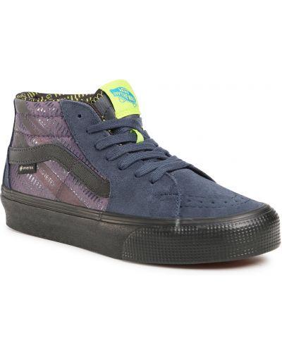 Światło skórzany skórzane sneakersy Vans