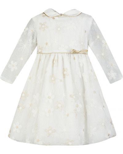 Шерстяное платье - белое Aletta
