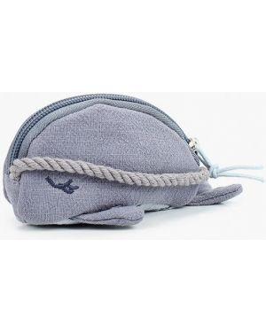 Синяя текстильная сумка Mango Kids