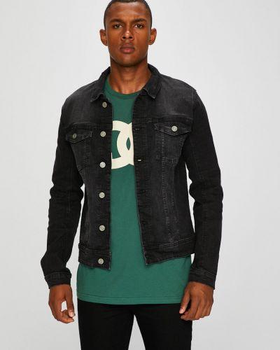 Джинсовая куртка укороченная на пуговицах Blend