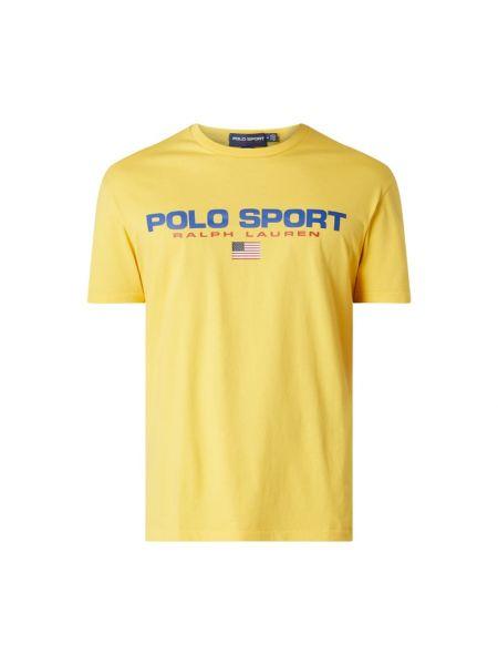 Bawełna żółty koszula z dekoltem okrągły Polo Ralph Lauren