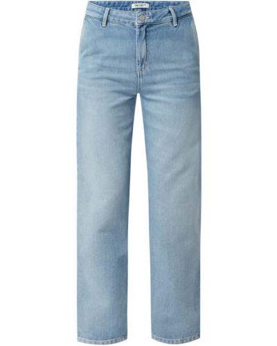 Mom jeans bawełniane - niebieskie Carhartt Work In Progress