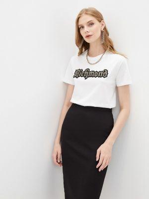 Белая футболка осенняя Richmond