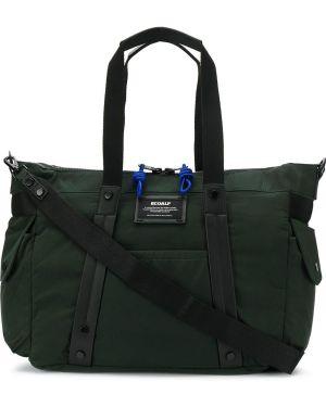 Нейлоновая дорожная сумка со шлейфом Ecoalf