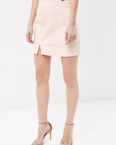 Розовая юбка весенняя Love Republic
