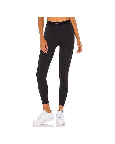 Спортивные черные нейлоновые спортивные брюки Adam Selman Sport