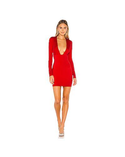 Платье мини с V-образным вырезом на молнии Superdown