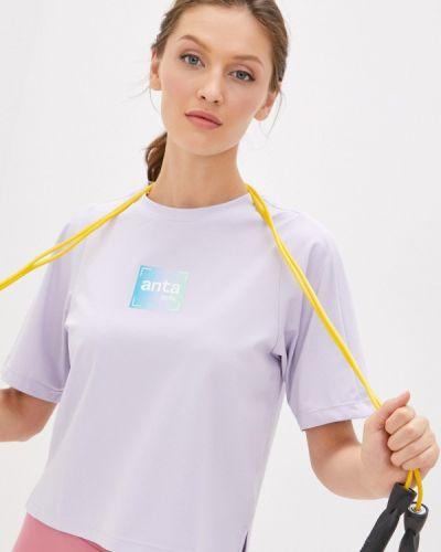 Спортивная футболка - фиолетовая Anta