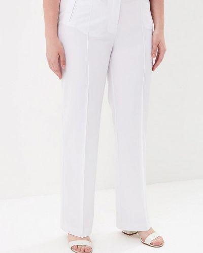 Белые брюки прямые Kr