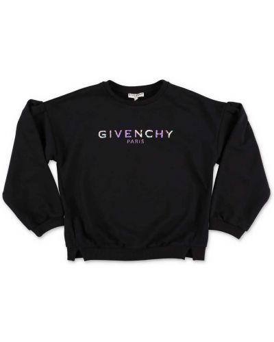 Czarna bluza bawełniana vintage Givenchy