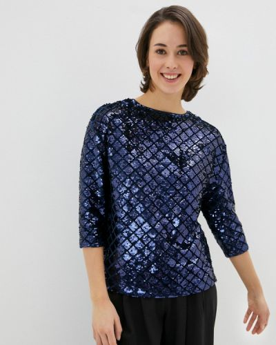 Синяя блузка с длинными рукавами Marks & Spencer