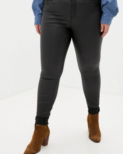 Прямые черные брюки Zizzi