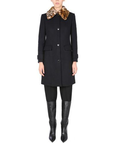 Czarny płaszcz Anna Molinari