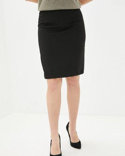 Прямая черная юбка карандаш Incity