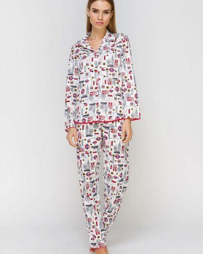 Пижама белая пижамный Cyberjammies