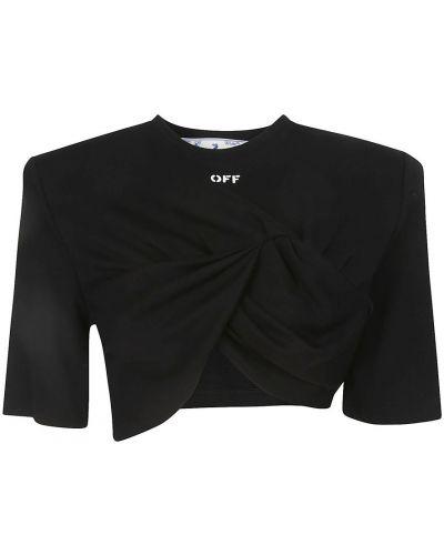Czarny t-shirt Off-white