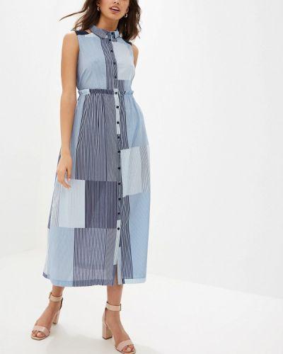 Платье платье-рубашка осеннее Helmidge
