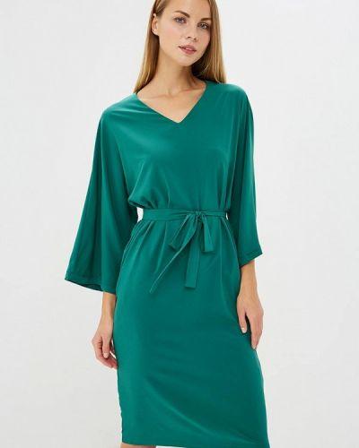 Зеленое платье льняное Trendyangel