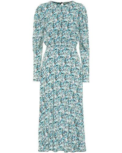 Платье миди с цветочным принтом стрейч Rotate Birger Christensen