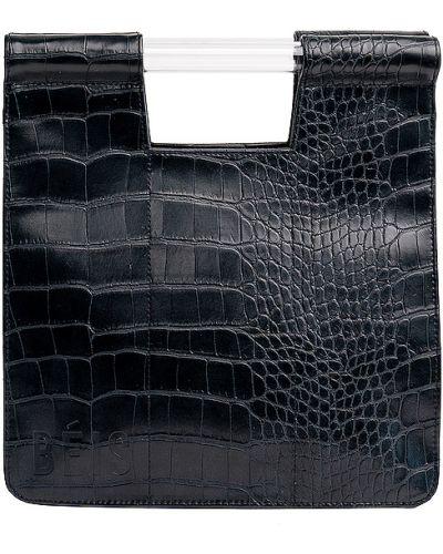 Czarna torebka skórzana Beis