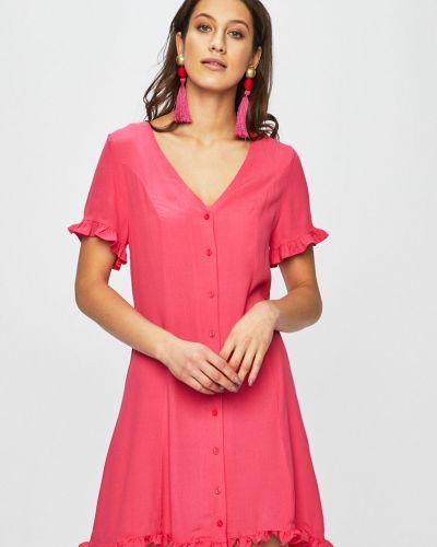Платье мини однотонное прямое Glamorous