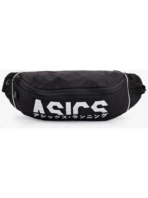 Черная поясная сумка Asics