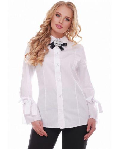 Белая блузка Vlavi