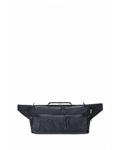 Черная поясная сумка Keep