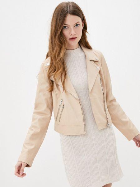 Кожаная куртка весенняя розовая снежная королева