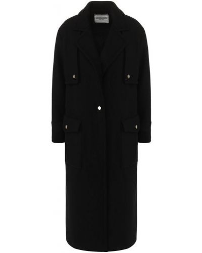 Пальто с накладными карманами шерстяное Iceberg