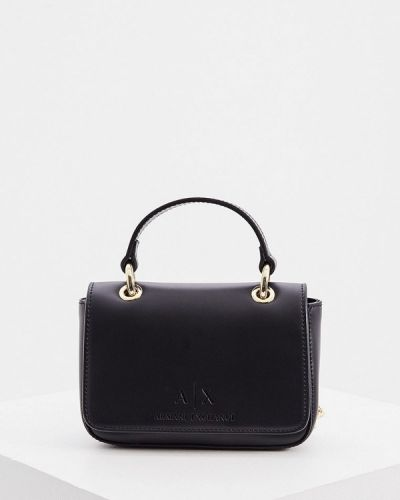 Черная сумка через плечо Armani Exchange