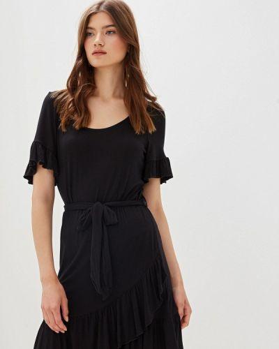 Платье прямое черное Nice & Chic