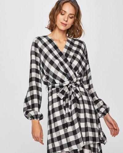 Платье мини с запахом с поясом Answear