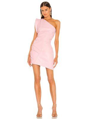 Różowa sukienka z jedwabiu Lamarque